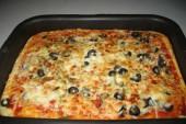طريقة عمل البيتزا السائلة بالصور