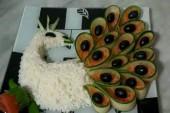 طريقة عمل أرز الطاووس بالصور