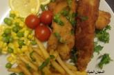 طريقة شوربة الجمبرى بالكريمة-اصابع السمك المقرمشة -امليت الجمبرى بالصور