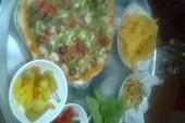 طريقة عمل البيتزا الإيطالية بالصور من مطبخ (مدام فاطمة الحلواني)