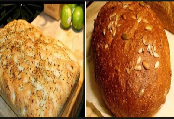 طريقة عمل خبز الفوكاشيا الإيطالي والخبز الريفي