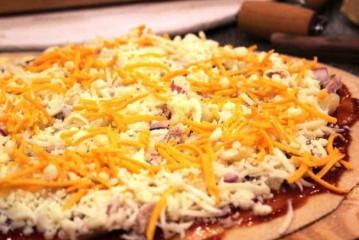 للريجيم .. بيتزا لايت بالبارميزان