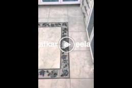 بالفديو طريقة تنظيف وازاله السواد من الفواصل السيراميك