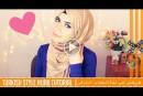 بالفديو طريقة لفة الحجاب التركي