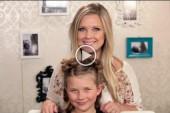 بالفديو مجموعة تسريحات الشعر للبنات الصغيرة 5