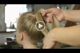 بالفديو مجموعة تسريحات الشعر للبنات الصغيرة 6