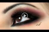 بالفيديو مكياج للعيون الواسعة