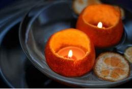 طريقة عمل شمعة بالبرتقال لتعطير المنزل