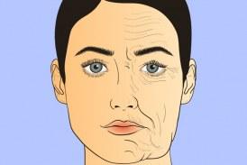 خلطات طبيعية لعلاج تجاعيد الوجه